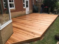 Garden Patio Wood Decking