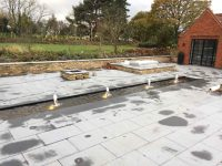 Garden Slab Patio