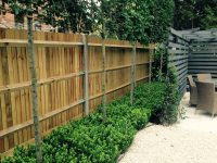 Garden Wood Fencing Landscaping