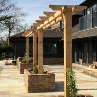 Garden Wood Trellis